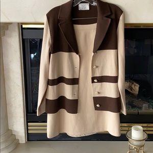 Vintage Bullock's Wilshire 100% Wool Tailored Suit